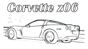 Car Printable Coloring Pages Irescueclub