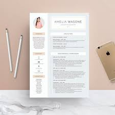 Reasons Why You Should Customize Your Cover Letter Amazing Word Resume Cover Letter Template By DemeDev On Creativemarket