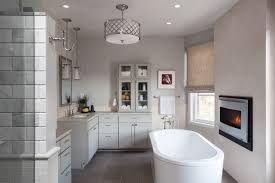 bathroom ceiling lights. inspiration for a large transitional master white tile and marble slate floor gray bathroom ceiling lights