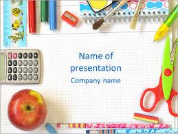 School Powerpoint Templates Backgrounds Google Slides