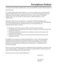 Entry Level Mechanical Engineer Cover Letter Chechucontreras Com