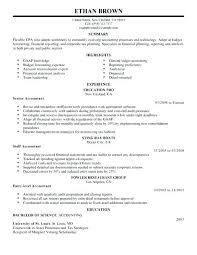 Resume Examples For Accounting Jobs If He Or She Has Additional