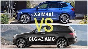 2018 bmw x3 m40i. modren m40i 2018 bmw x3 m40i vs mercedes glc 43 amg inside bmw x3 m40i