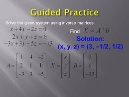 guided practice solution x y z 3
