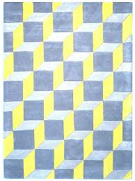 mustard and grey rug geometric guru yellow blue area for gray plans