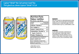 brisk no cal lemon iced tea