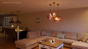 Koperen Lampen Warme Oosterse Sfeerverlichting Met Uitstraling