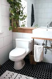 black hexagon tile bathroom white square tile bathroom square tile bathroom large contemporary black and white