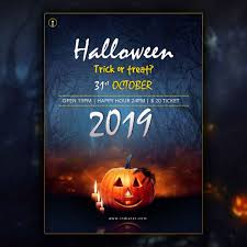 Halloween Party Flyer Template Free Download Day Ant Kahn Com