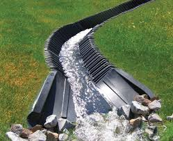 Draining Excess Water From A Lawn  YouTubeDrainage In Backyard