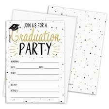 Graduation Party Invitation Template Graduation Party Invitations 25 Cards With Envelopes