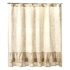 shower curtains burlap shower curtain with bullion fringe burlap shower curtain design burlap shower image