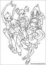 Small Picture Winx Club coloring pages on Coloring Bookinfo
