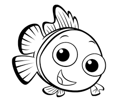 Small Picture Print Download Cute and Educative Fish Coloring Pages