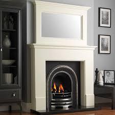 Wonderful GB Mantels Warwick Olde England White Fireplace Suite