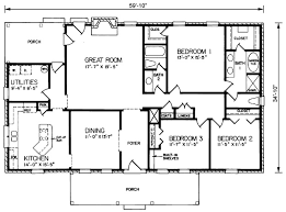 Rectangular House Plans Rectangular House Plans Home Planning
