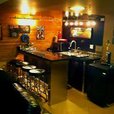 Exellent Homemade Man Cave Bar A Possible Diy On Modern Design
