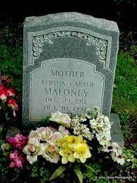 "Bertha Lou ""Granny Carter"" Clark Maloney (1917-1997) - Find A Grave Memorial"