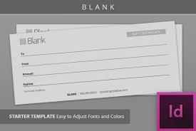 amazing free blank gift certificate templates template stationery