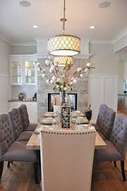 elegant dining room lighting. modren lighting dining room decor ideas  elegant traditional style dining room with  passthrough stone clad fireplace to lighting a