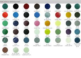 Bosny Spray Paint Color Chart Philippines Asmat Group Bosny Acrylic Aerosol Paint Other Products