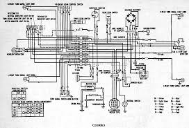 honda cb125 wiring diagram schematics and wiring diagrams wiring schematic 4 stroke all the for your honda