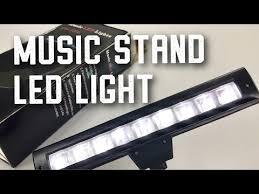 Lixada Flexible Bendable 9 LEDs <b>Music Stand Clip Lamp Light</b> ...