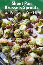 sheet pan roasted brussels sprouts with