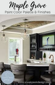 Grand Design Interiors Maple Grove Mn Complete Paint Color Palette With Sheen Cabinetry Finishes
