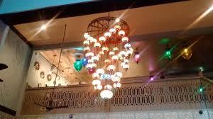 turkuaz restaurant chandelier at turkuaz turkish restaurant