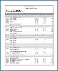 It's a great tool that is. Free Printable Contractor Bid Sheet Template Templateral
