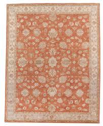 beautiful traditional persian oriental handmade 8x10 area rug orange beige