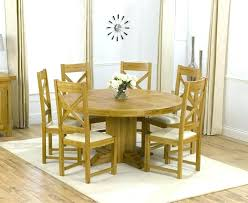 6 chair round dining table set solid oak round dining table 6 chairs round oak table