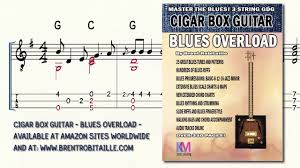 Cigar Box Guitar Blues Overload Nobody Knows The Trouble Ive Seen 3 String Guitar Gdg