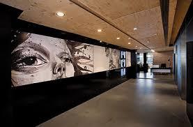 office lobby designs. Leo Burnettu0027s Office Lobbylove The Giant Art Wall Leading You To Lobby Designs N