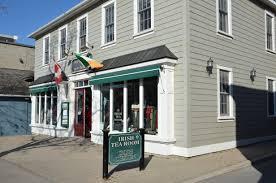 Irish Design Shop Niagara On The Lake File Irish Tea Room Looked More Like A Clothing Store