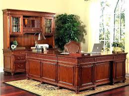 l shaped desk home office. Solid Wooden Desks For Home Office Wood L Shaped Desk Best U Workstation Corner In Real Plan 3