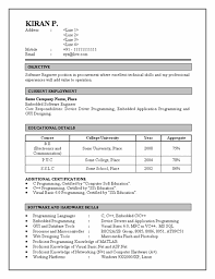 Awesome Civil Engineering Fresher Resume Format 84 About Remodel