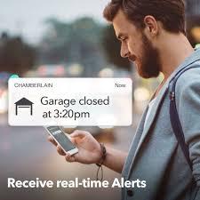 myq smart garage door opener chamberlain wi fi enabled3