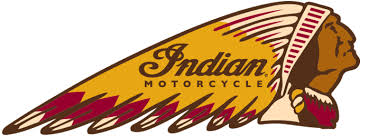 Indian Motorcycle Four Color Headress Logo | bobber painting ...