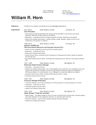 How To Set Up A Resume Resume Templates