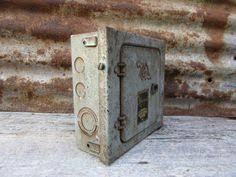 old metal industrial panel fuse box west by theoldtimejunkshop Old Military Fuse Box old metal industrial panel fuse box gray by theoldtimejunkshop Old-Style Fuse Boxes