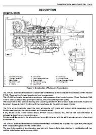isuzu repair service manuals transmission jr405e model workshop manual