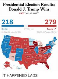 Presidental Election Results Presidential Election Results Donald J Trump Wins Live 70737 Am Et
