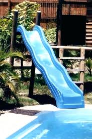 above ground pool slide. Beautiful Above Above Ground Pool Slide For Water Slides  Refinishing Restoring A Fiberglass To Above Ground Pool Slide