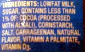 trumoo chocolate milk ings
