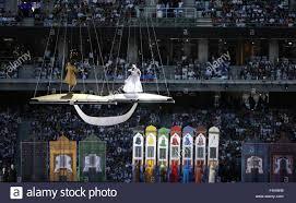 Cerimonia di apertura per il 2015 Giochi Europei di Baku Stadio Olimpico  Giugno 13, 2015 a Baku, in Azerbaijan Foto stock - Alamy