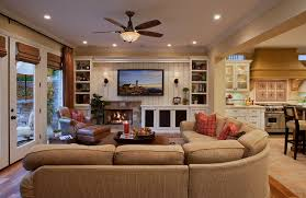 traditional family room furniture. Simple Traditional Traditional Family Room Decorating Ideas With Fireplace And Ceiling Fan On Furniture