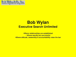PPT - Bob Wylan Executive Search Unlimited PowerPoint Presentation ...