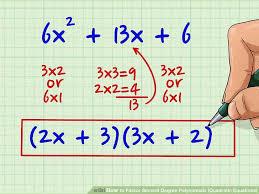 image titled factor second degree polynomials quadratic equations step 2